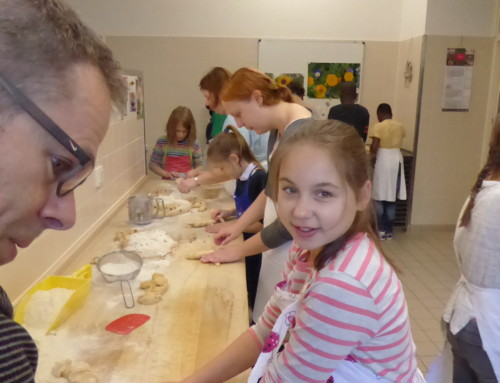 Backen in der Auer Klosterküche