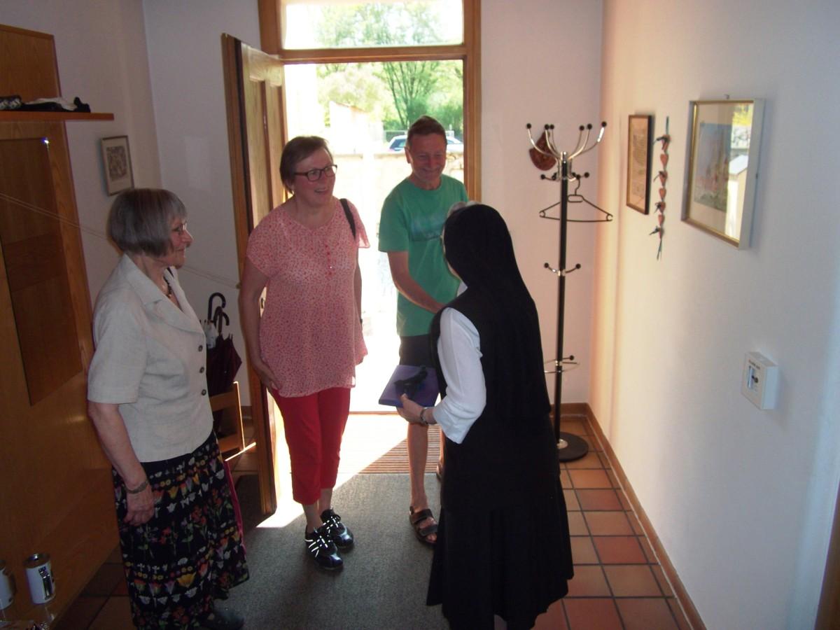 Besucher in Regensburg