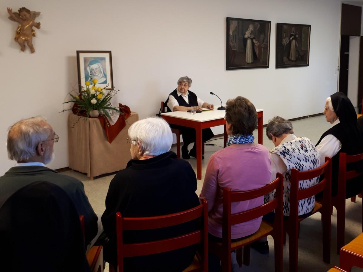 Vortrag von Sr. Canisia in Neubiberg